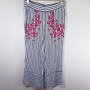 Zara Trafaluc Striped Pants Size XS/24